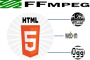 HTML5 video ffmpeg mp4 webm ogg
